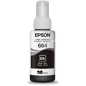 REFIL DE TINTA EPSON 664 PRETO ORIGINAL T664120