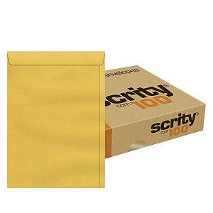 ENVELOPE SACO OURO 240x340 80G CX C/100 UN. SCRITY SKO334