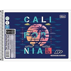 CARTOGRAFIA CAPA FLEX (SEM SEDA) 96 FOLHAS CALIFORNIA TILIBRA D+ 143472