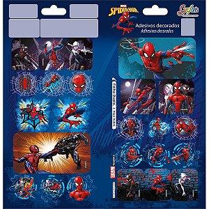 ADESIVO DECORADO DUPLO SPIDER-MAN TILIBRA GRAFONS 306703