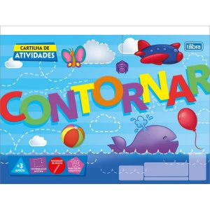 CARTILHA DE ATIVIDADES DE CONTORNAR C/20 FOLHAS TILIBRA ACADÉMIE 306380