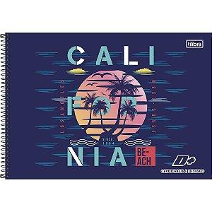 CARTOGRAFIA CAPA DURA (SEM SEDA) 96 FOLHAS CALIFORNIA TILIBRA D+ 142905