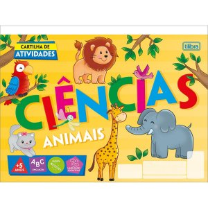 CARTILHA DE ATIVIDADES CIÊNCIAS ANIMAIS C/20 FOLHAS TILIBRA ACADÉMIE 327760