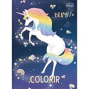 ALBÚM PARA COLORIR BLINK COM 8 FOLHAS TILIBRA 306401