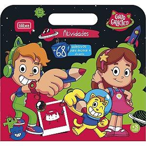 CARTILHA DE ATIVIDADES MALETA GATO GALACTICO COM 8 FOLHAS TILIBRA 319775