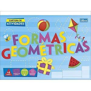 CARTILHA DE ATIVIDADES FORMAS GEOMÉTRICAS C/20 FOLHAS TILIBRA ACADÉMIE 322687