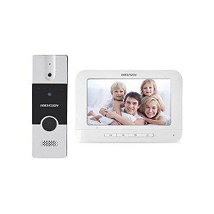 Kit Video Porteiro Hikvision DS-KIS202