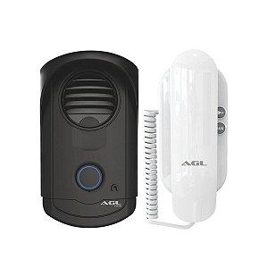 Porteiro Eletronico Residencial AGL S100 Branco