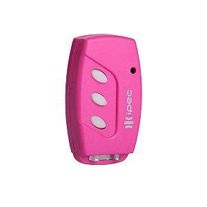Controle Remoto Ipec Tx-Flex Clip Rosa - A2010-RS/CLIP