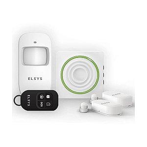 Kit de Alarme Elsys Wifi c/ Sensores s/ Fio - ESA-KW1080