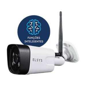 Camera Elsys Wifi Full HD Rot Externa c/ Sensor Movimento - ESC-WB3F