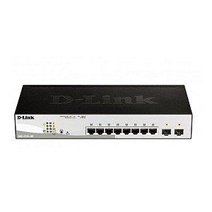 Switch D-Link DGS-1210-10P 10 Portas 10/100/1000