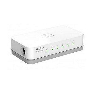 Switch D-Link 5 Portas 10/100 DES-1005C