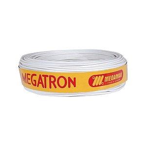 Cabo Paralelo Megatron 2x1mm 100m Branco
