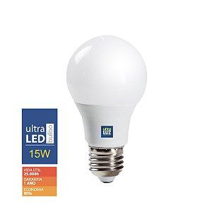 LED 15W 3000K Amarela