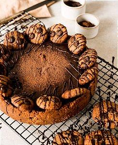Torta Cookies - vegano, sem glúten, sem lácteos