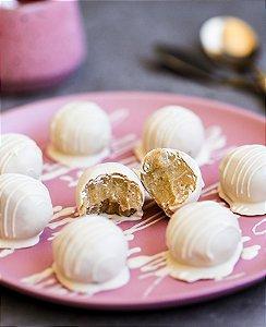 Esferas Brancas - Zero Açúcar- vegano, sem glúten, sem lácteos
