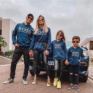 Moletom Boss Azul Marinho - ADULTO