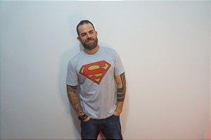 Camiseta Super Homem - ADULTO