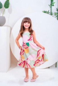 Vestido Laís - INFANTIL