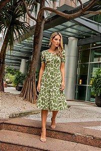 Vestido Marina Animal Print - ADULTO