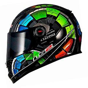 Capacete LS2 FF358 Classic Tech Black