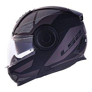Capacete LS2 FF902 Scope Mask Preto/Titanium