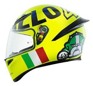 Capacete AGV K1 Mugiallo Valentino Rossi
