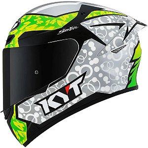 Capacete KYT TT Course Réplica Tony Arbolino