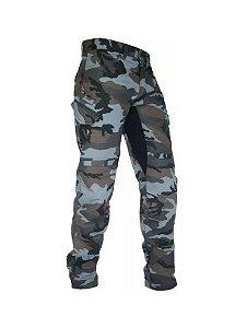 Calça HLX Defender Masculino Azul Camuflado