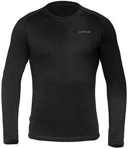 Segunda Pele Curtlo Camiseta Thermoplus Masculino Preto