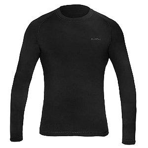 Segunda Pele Curtlo Camiseta Thermosense Masculino Preto