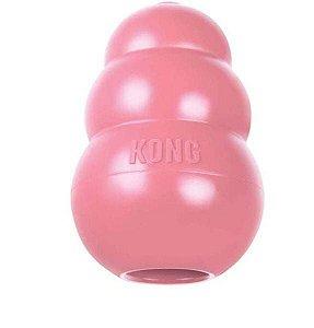 Kong Puppy Médio - Para Cães Filhotes de Porte Médio Rosa