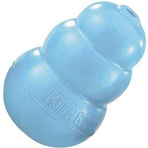 Kong Puppy Médio - Para Cães Filhotes de Porte Médio Azul