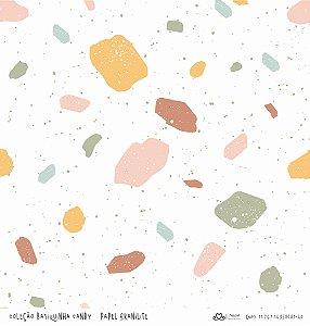 Papel Granilite (Coleção Basiquinha Candy) - Pacote com 15 unidades