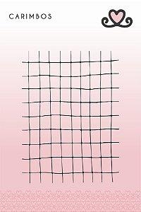 Carimbo Grid ( Coleção Vocês, Pra Sempre) - pacote com 3 unidades