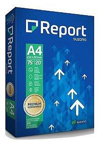 PAPEL A4 REPORT SUZANO 75G 500 FOLHAS
