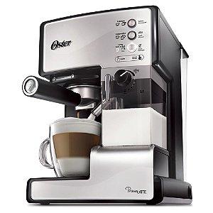 Máquina de Café Expresso Oster - Cappuccino - Aço Inoxidável