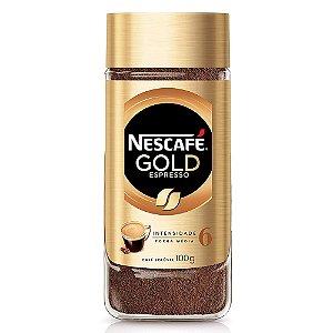 Café Solúvel Nescafé Gold Espresso 100g