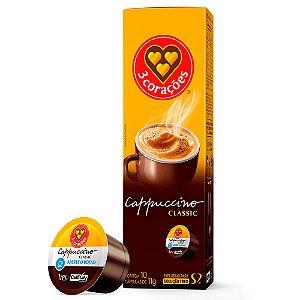 Cappuccino em Cápsula Classic - 3 Corações