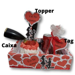 Kit Namorados - Caixa e decoração