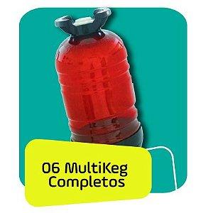 Kit Multkeg 06 Unidades 30L Completo