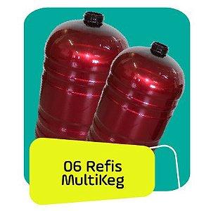 Kit Refil Multkeg 06 Unidades 30L