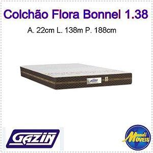 Colchão Flora 1,38 Marrom