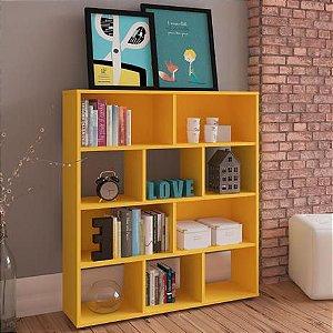 Estante Book Cor Amarelo