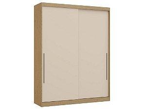 Guarda Roupa 2 Portas de Correr Premium Elegance 4222A - Angelin / Off white