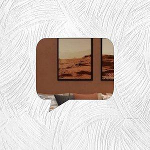 Fala - Produzido em acrílico espelhado