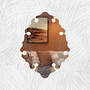 Arabesco - Produzido em acrílico espelhado