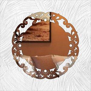 Mandala Tiffany - Produzido em acrílico espelhado