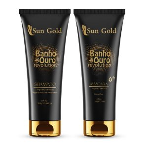 Kit Banho de Ouro 300g